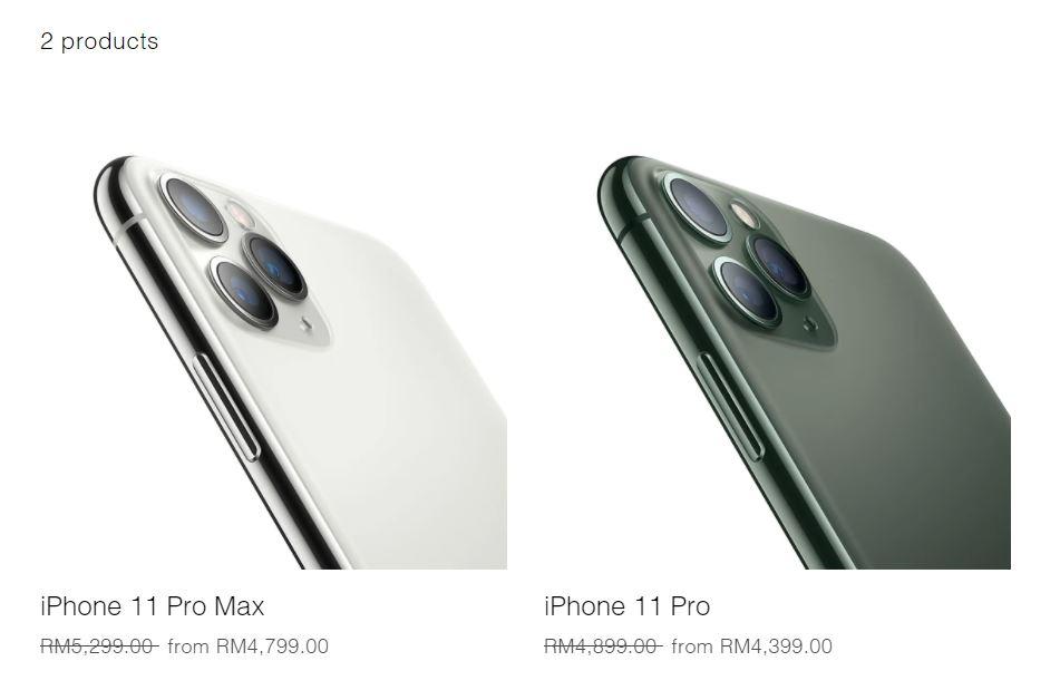 Harga iPhone 11 Pro dan Pro Max dapat diskaun RM500 ...